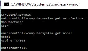 WMIC Windows