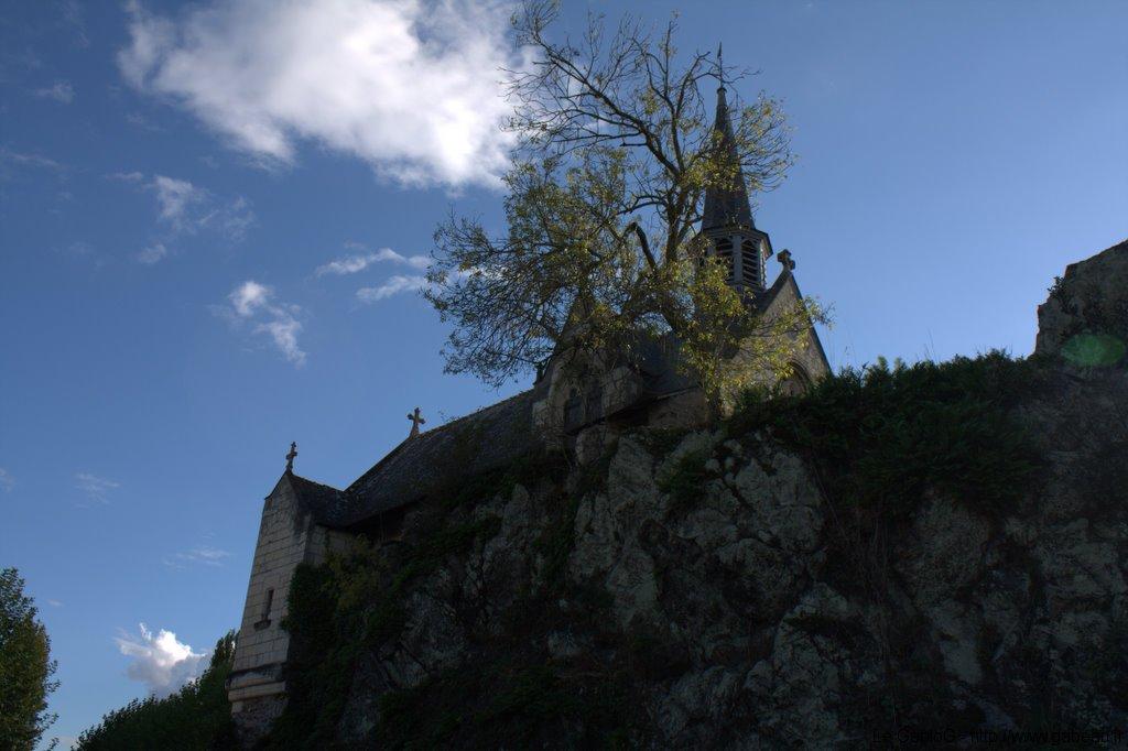 Béhuard, l\'église